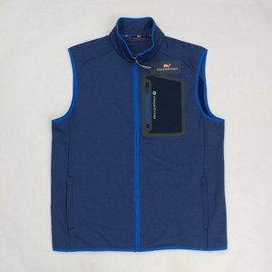 Vineyard Vines Men Performance Vest Full Zip M XL